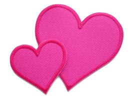 Regenhosen Herz pink