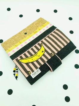 Geldbörse Banane im Schlafrock