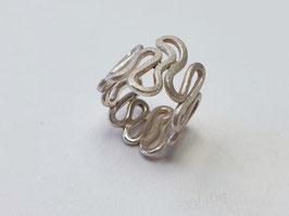 Wickel Ring aus 925er Silber