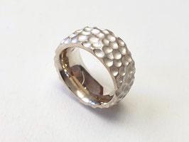 """Breiter Ring """"Dots"""" aus 925er Silber"""