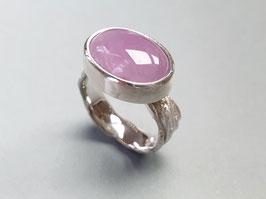 Ring aus 925er Silber mit Kunzit