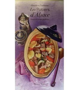 """Livre de recettes """"Les potiers d'Alsace"""""""