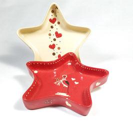 Coupelle étoile