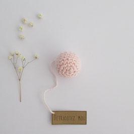 Boîte Surprise Boule Rose Pâle