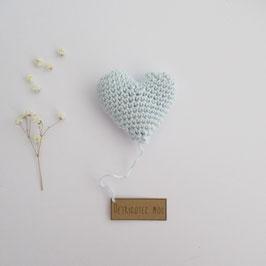 Boîte Surprise Coeur Bleu Ciel