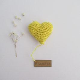 Boîte Surprise Coeur Citron
