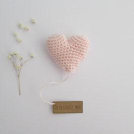 Boîte Surprise Coeur Rose Pâle