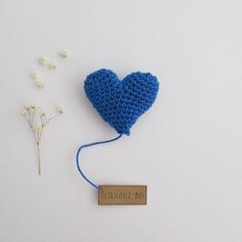 Boîte Surprise Coeur Bleu Roi
