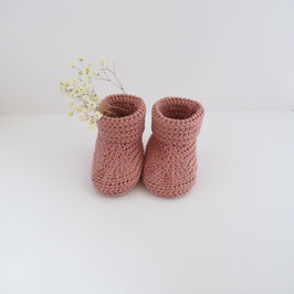 Chaussons Vieux Rose