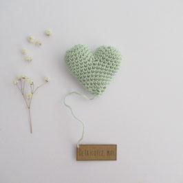 Boîte Surprise Coeur Vert Pâle