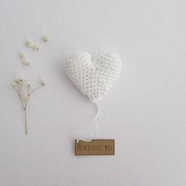 Boîte Surprise Coeur Blanc