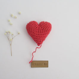 Boîte Surprise Coeur Coquelicot