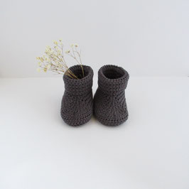 Chaussons Anthracite