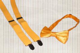 Kinder-Hosenträger mit Fliege