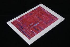 Karte Human in pink