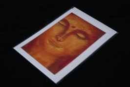 Karte red buddha gross