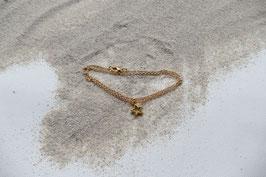 Vergoldetes Armband -Stern-