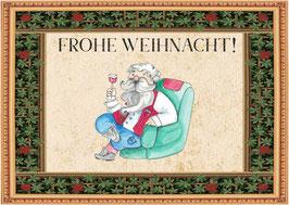 Weihnachtspostkarten 4+1