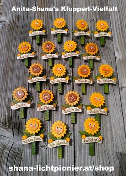 Sonnenblumen-Klupperl