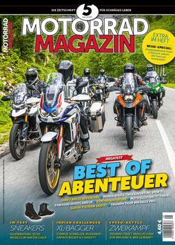 Motorradmagazin 5/20 + 28 Seiten Reise-Special Österreich