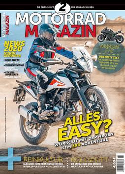 Motorradmagazin 2/20