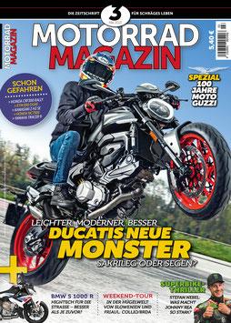 Motorradmagazin 3/21 & 28 Seiten Moto Guzzi Spezial