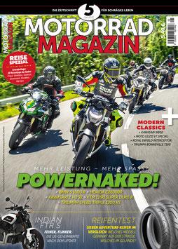 Motorradmagazin 5/21 & 28 Seiten Reise-Special