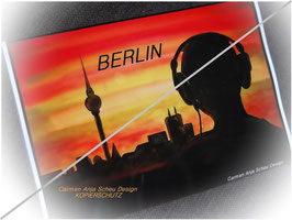 "Fotodruck ""BERLIN"" ca. DIN4"