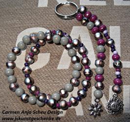 Sparset: Doppelt-Armband & passender Schlüsselanhänger (oder als Taschenanhänger)