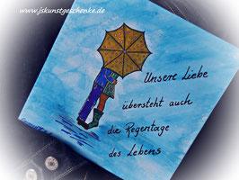 "Leinwandbild ""Unsere Liebe"""