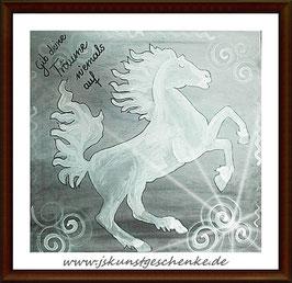 """Leinwandbild """"Pferdeträume"""""""