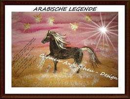 """Leinwandbild """"ARABISCHE LEGENDE"""""""