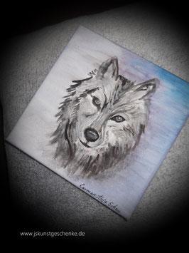 """Leinwandbild """"Wolf"""""""