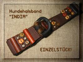 """Hunde - Halsband """"INDIA"""""""