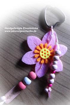"""Schlüssel-/ oder Taschenanhänger """"Blütenzauber"""""""
