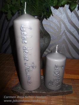 Kerzen-Set (3 Teile)