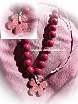 """Kette """"Pink Flower"""""""