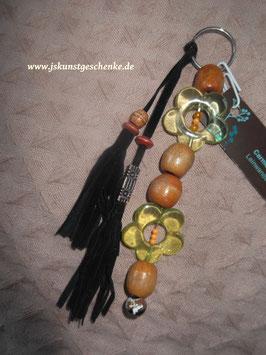 """Großer Schlüssel- /oder Taschenanhänger """"Blumen"""""""