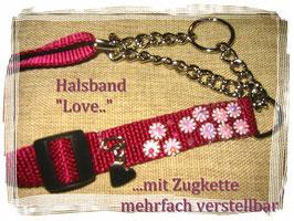 "Hunde - Halsband ""LOVE"""
