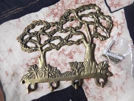 """Messing - Schlüssel- oder Kettenaufhängung """"Bäume"""" zum mitbestellen"""