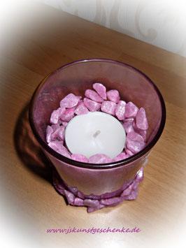 """Teelichtglas """"Rosary"""""""