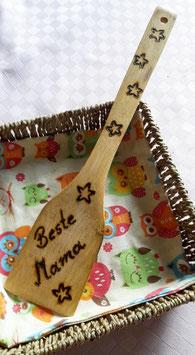 """Pfannenwender """"Beste Mama"""" in Geschenkverpackung"""