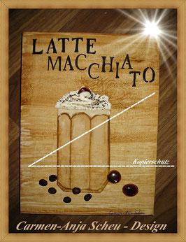 """Leinwandbild """" LATTE MACCHIATO"""""""