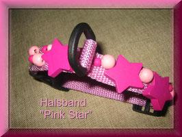 """Halsband """"PINK STAR"""""""