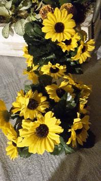 "2 Kerzenkränzchen ""Sonnenblumen"""