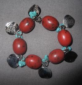 """Armband """"türkise Steinchen"""""""