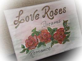 "Leinwandbild ""LOVE ROSES"""