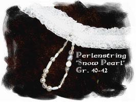 """Perlenstring """"SNOW PEARL"""""""