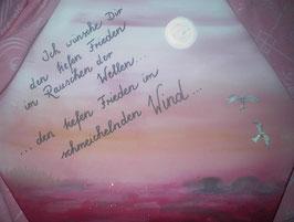 """Leinwandbild """"Tiefer Frieden"""""""
