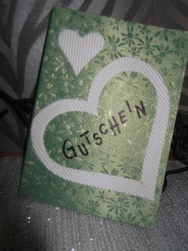 Große Gutscheinklappkarte (ohne Umschlag)